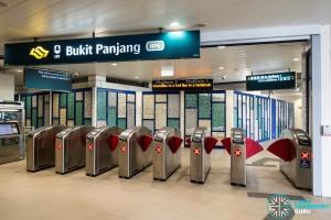 Bukt Panjang LRT - Station Closed