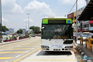 Hino Blue Ribbon City Hybrid at Senai