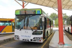 Hino Blue Ribbon City Hybrid - Front