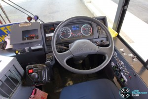 Hino Blue Ribbon City Hybrid - Dashboard