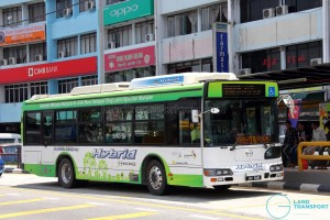 Hino Blue Ribbon City Hybrid (JSH2448) - Service 7B