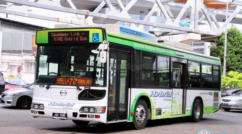 Hino Blue Ribbon City Hybrid (JSH2448) - Service 7B