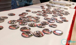 Journey With Us @ Bukit Panjang ITH: Souvenir badges