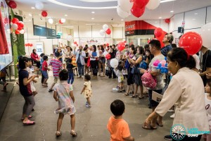 Journey With Us @ Bukit Panjang ITH: Performances at the interchange foyer