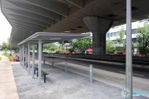 Kaki Bukit Avenue 3: New Bus Stops under construction