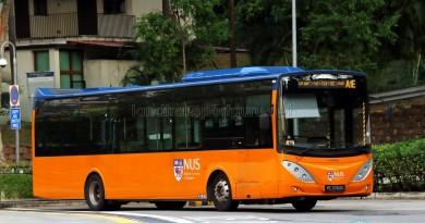 ComfortDelgro Bus Volvo B9L (PC3763G) - NUS ISB Route A1E
