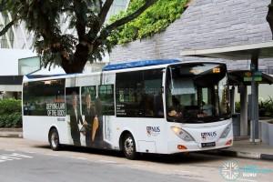 ComfortDelgro Bus Volvo B9L (PC3983M) - NUS ISB Route BTC2