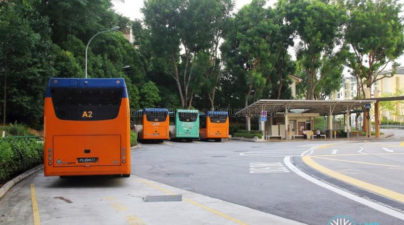 Prince George's Park Bus Terminal - Parking lots
