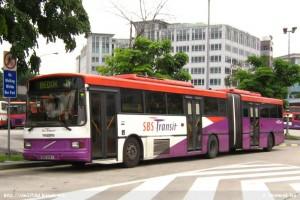 SBS Transit Volvo B10MA Mark IV (SBS998Y) - Service 18