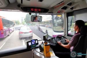 SBS Transit MAN A95 ND323F (SG5835M) - Driver's Cab