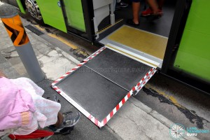 SBS Transit MAN A95 ND323F (SG5835M) - Extended Wheelchair Ramp
