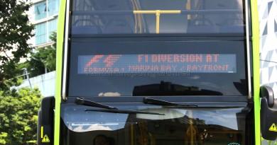 Service 106 - F1 Diversion EDS
