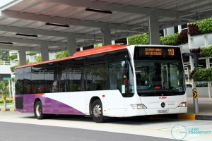 SMRT Mercedes-Benz Citaro (SG1050L) - Service 110