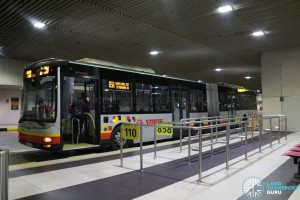 Bus Service 110 - Berth at Changi Airport PTB2