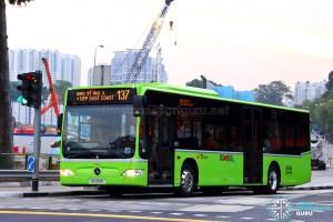 SBST Mercedes-Benz O530 Citaro (SG1139R) - Service 137