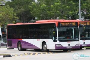 SMRT Mercedes-Benz O530 Citaro (SG1186D) - Service 110