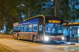 SMRT MAN A22 (SMB195G) - LRT Shuttle B