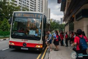 SMRT Mercedes-Benz OC500LE (SMB41S) - LRT Shuttle A