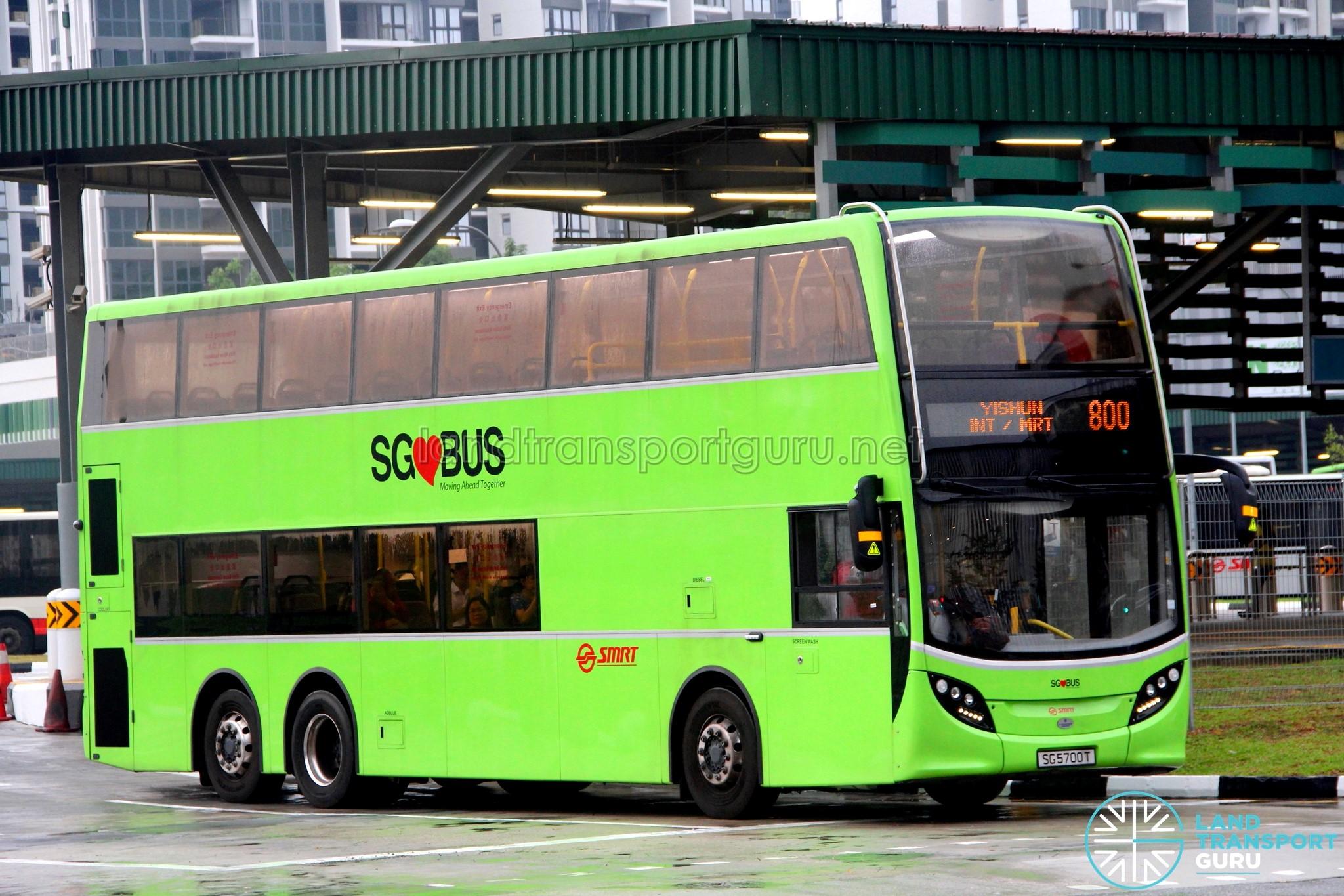 SMRT Alexander Dennis Enviro500 (Batch 2)