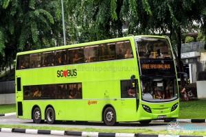 SMRT Alexander Dennis Enviro500 (SG5706C) - NSL Free Bridging Bus