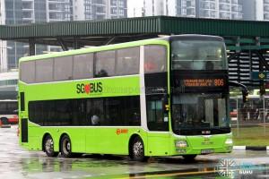 SMRT MAN A95 Facelift (SG5808S) - Service 806