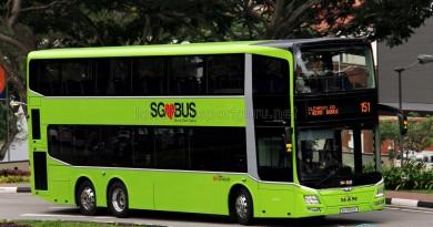 SBS Transit MAN A95 ND323F (SG5853K) - Service 151