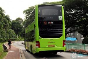 SBS Transit MAN A95 ND323F (SG5853K) - Service 151 (Rear)