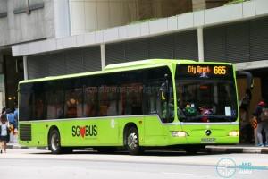 Tower Transit Mercedes-Benz Citaro (SBS6404E) - City Direct 665