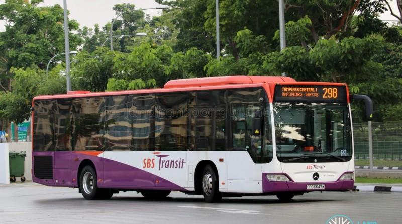 SBS Transit Mercedes-Benz CItaro (SBS6647X) - Service 298