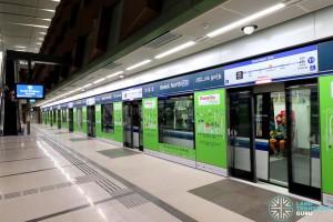 Bedok North MRT Station - Platform A