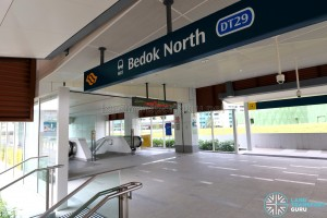 Bedok North MRT Station - Exit A
