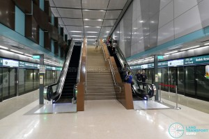 Bedok Reservoir MRT Station - Platform Level (B3)