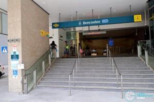 Bencoolen MRT Station - Exit A
