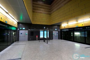 Bencoolen MRT Station - Platform Level (B6)