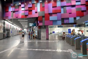 Bendemeer MRT Station - PSC & Faregates