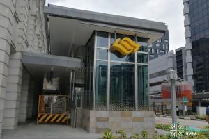 Bencoolen MRT Station (DT21) - Exit B