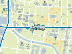 Jalan Besar MRT Station - Map