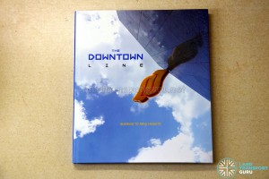 Downtown Line Commemorative Book (Jacket cover)