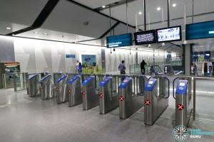 Expo MRT Station (DTL) - Faregates