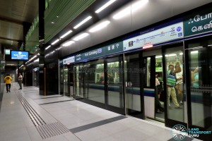 Fort Canning MRT Station - Platform A