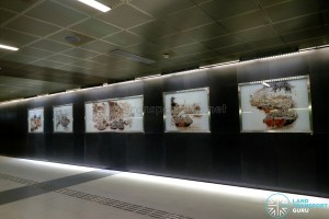 Fort Canning MRT Station - Art In Transit 'Through His Eyes'