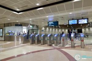 Geylang Bahru MRT Station - Faregates & PSC (B2)