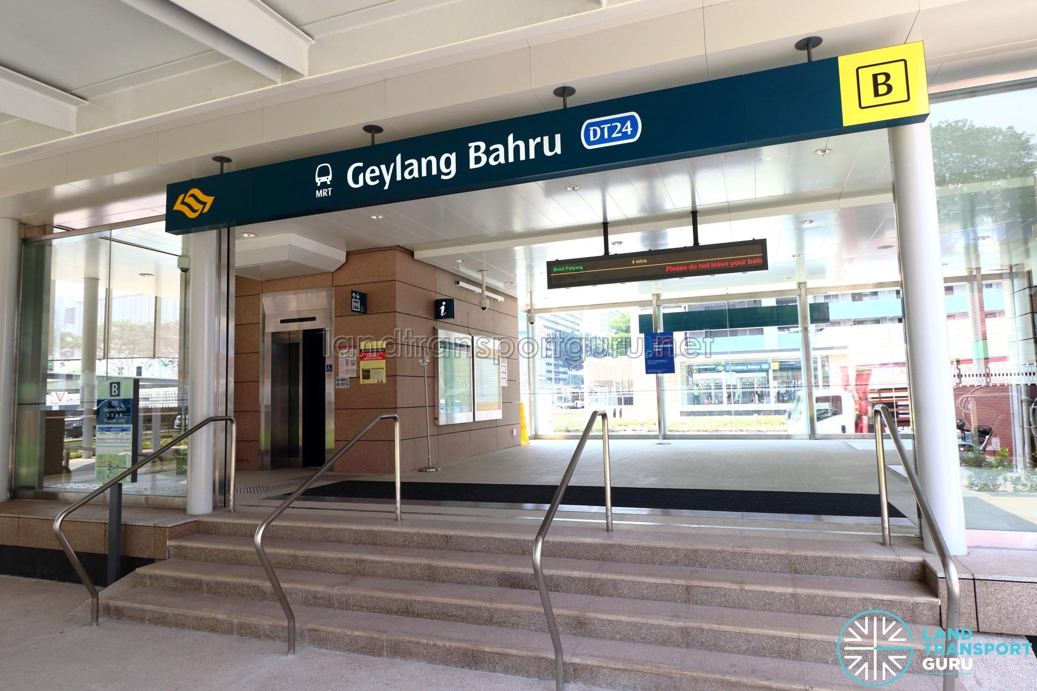 Geylang Bahru MRT Station Exit B
