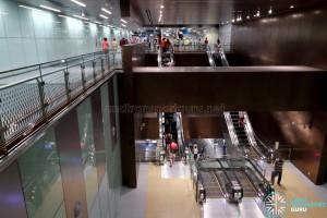 Jalan Besar MRT Station - Escalators to Platform