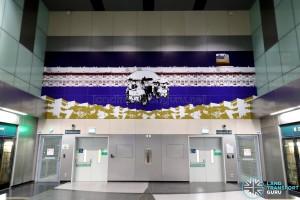 Jalan Besar MRT Station - Art In Transit 'A Kaleidoscopic World'