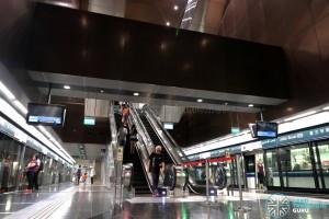 Jalan Besar MRT Station - Escalators to Concourse