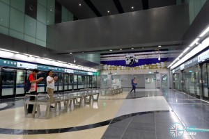 Jalan Besar MRT Station - Platform Level (B4)