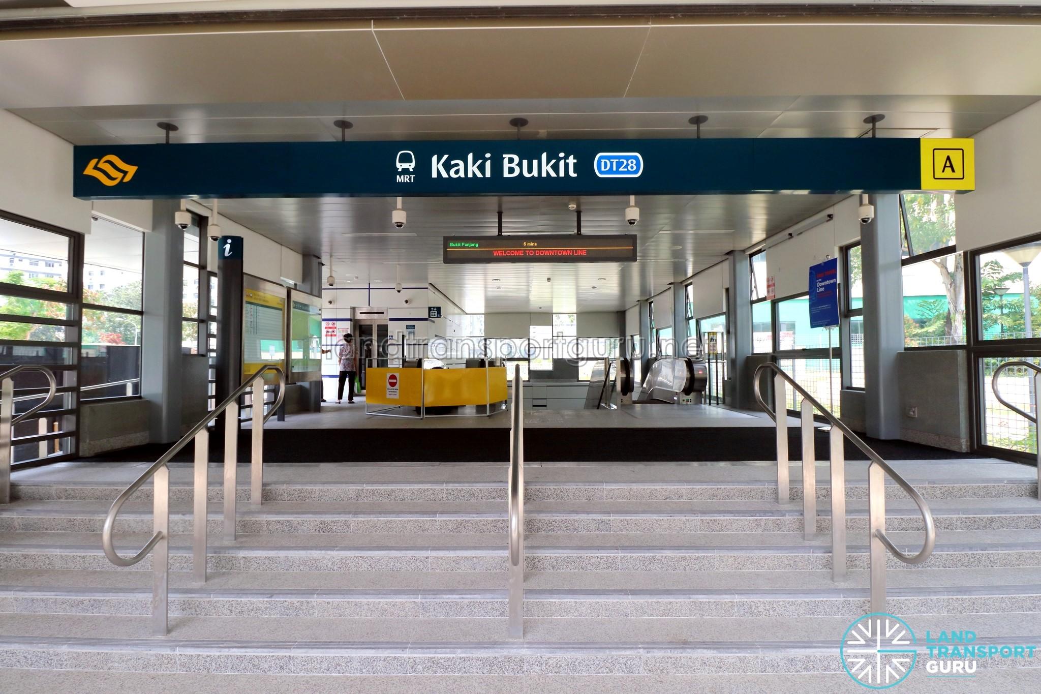 Kaki Bukit Exit A