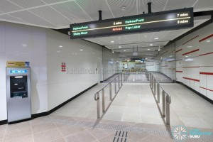 MacPherson MRT Station (DTL) - Unpaid link to CCL station