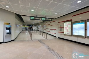 MacPherson MRT Station - Unpaid Link to Circle Line Station